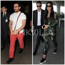 Airport Diaries Aamir Khan Is Back From Delhi Katrina Kaif Heads