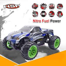 100 Gas Powered Remote Control Trucks HSP 94108 RC Racing Truck Nitro Power 4wd Off Road