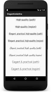 Text Decoration Underline Style by A Better Underline For Android U2013 Google Developers U2013 Medium