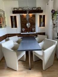 lounge sessel wohnzimmer esszimmer kunstleder stühle 4 stück