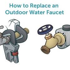 how to repair a leaking outdoor faucet hose bib home maintenance