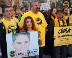 100 Mitchell Medium Truck Families Of Bay Area Traffic Crash Victims Turn Grief Into Action