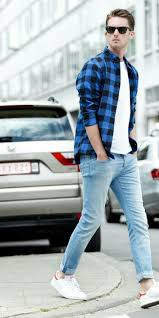 White T Shirt Jeans Outfits For Men