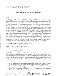 Why Is Africa Poor - Daron Acemoglu | Slavery | Africa Watsons Web The Project Gutenberg Ebook Of Cotton Is King And Proslavery Abolish Human Abortion August 2011 45 Best 161700 Images On Pinterest 17th Century Anonymous 32 New Civil Warslavery Nfiction Genovese Slavery In White Black 2008 Southern United Albert Rockwood Mormonite Musings American Indians Childrens Literature Aicl Race Iq Debate Serves No Purpose National Review 165 The History Slavery Rights