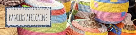 panier à linge africain décoration ethnique cabane indigo