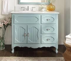adelina 42 inch antique cottage bathroom vanity light blue finish