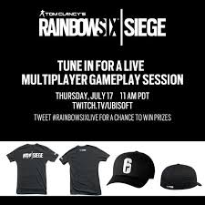 http siege rainbow six siege on our twitch is live see r6