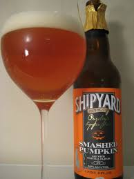 Ichabod Imperial Pumpkin Ale by Shipyard Smashed Pumpkin Ale First Pour Wine