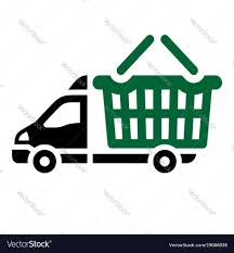 100 Icon Trucks Delivery Trucks Flat Icon Royalty Free Vector Image
