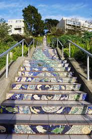 16th Avenue Tiled Steps Address by San Francisco Gems Beyond The Tourist Traps Her Travel Edit