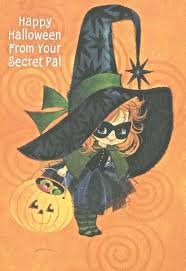Vintage Halloween Collector Weeny Witch by Vintage Halloween Cute Witch Jol Greeting Card Digital