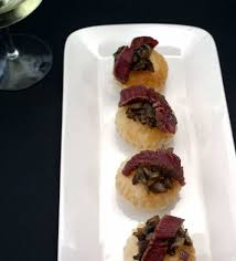 beef canape recipes de constructed beef wellington canapés sprinkles and sprouts