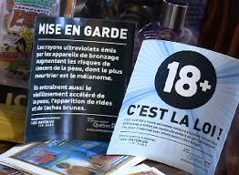 Cabine De Bronzage Faut Il Interdire La Publicit Les Salons De Bronzage Interdits Aux Mineurs Salle Des Nouvelles