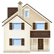 Images Front Views Of Houses by House Design Clipart 43