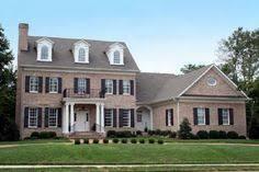 Plan PM Classic Brick Colonial Home