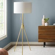 Photographers Tripod Floor Lamp Bronze Finish by Industrial Floor Lamps You U0027ll Love Wayfair
