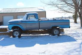 100 61 Ford Truck 66 Frosty Blue Oval 64 To 66 Panel