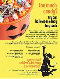 Operation Gratitude Halloween Candy Buy Back by Sample Flyers