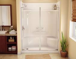 shower awesome prefab shower base one shower stall http