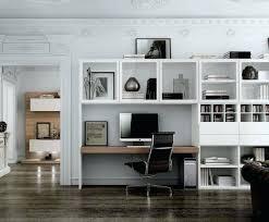 bibliothèque avec bureau intégré bibliothaque bureau integre bibliotheque bureau integre design
