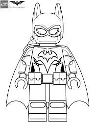 Lego Batgirl Coloring Page LEGO Batman Movie