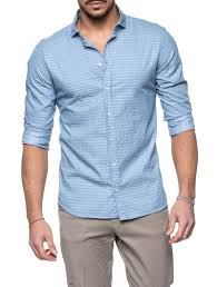MICRO FANTASY LIGHT BLUE SHIRT – Nohow Style