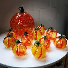Glass Blown Pumpkins by Studio Jeffrey P U0027an Home Facebook