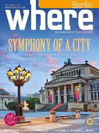 where magazin september 2016 by where berlin dinamix media