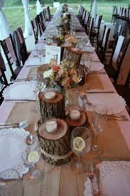 Rustic Head Table Decoration Ideas