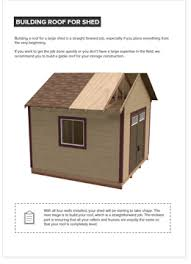 12x12 Shed Plans Pdf by 12x12 Gable Storage Shed Plan Howtobuildashed Org