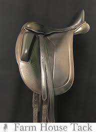 100 Farm House Tack Black Country Adelinda 175 Used Dressage Saddle
