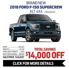 100 Truck Month Big Savings During At Rusty Eck Ford