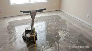 Zep Floor Finish For Stained Concrete by Workshop In Progress U2013 New Door Transom Window Concrete Floor