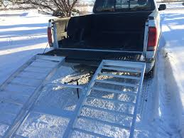 ATV Loading Ramp Review Comparing Folding Ramps And 2-piece Ramps ... Discount Ramps 60 Loading Ramp Attaching Lip Bracket For Truck And Trailer Ezaccess Shop At Lowescom Alinum Trifold Atv 68 Long Lawnmower Arched Pair Florist Lorry With Stock Photo Picture And My Homemade Sled Ramp Arcticchatcom Arctic Cat Forum Load Golf Carts More Safely With Loading Ramps By Longrampscom How To Use A Moving Insider Container Hydraulic Dock Truck Installation Man Attempts An On Pickup Jukin Media