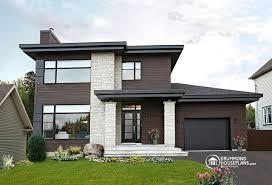 Modern Houseplans Contemporary Modern House Plan No 3713 V1 By Drummond