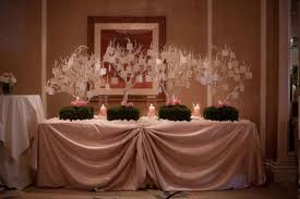 decoration plan de table mariage original plan de table arbres