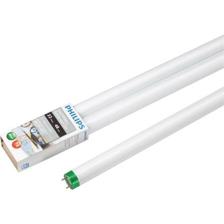 Philips T8 Medium Bi-Pin Fluorescent Tube Light Bulb - Cool White, 32W, 4ft
