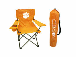 Clemson Junior Chair Ncaa Zero Gravity Clemson Orange Chair Black Tigers Recling Camp Folding Chairs College Covers Textilene Pine Rocking Replacement Sling With Pillow Pnic Time University Sports With Digital Logo Academy Lcc12331 Round Table 30in Oversized Gaming Brands Elite