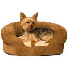 Snoozer Overstuffed Sofa Pet Bed by Yorkie Pet Supplies Providing Your Yorkshire Terrier With