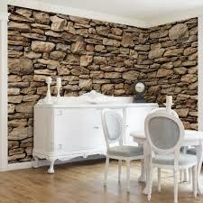 vlies tapete foto tapeten wohnzimmer küche steintapete