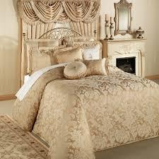 J Queen New York Kingsbridge Curtains by Gold King Bedding Home Regent Gold Grande Bedspread Antique Gold