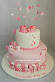 Baptism Decoration Ideas For Twins by Best 20 Christening Cake Girls Ideas On Pinterest Girls First