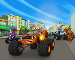 100 Monster Truck Shows 2014 Nickelodeon Launches Blaze And The Machines Animation