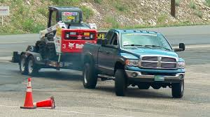 10,000-Pound Trailer-Tow Obstacle Course - Diesel Power Challenge ...