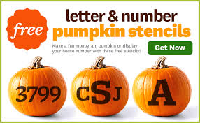Halloween Stencils For Pumpkins Free by Pumpkin Letter Stencils