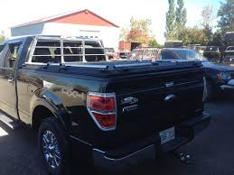 F-150 With Heavy-Duty Truck Bed Cover & Custom Headache Ra… | Flickr