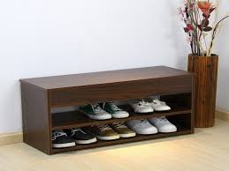 Bench Shoe Storage by Living Room Brilliant Shoe Rack Seat Bench Racks And Shelving