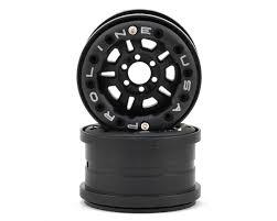 100 6 Lug Truck Rims ProLine FaultLine 22 BeadLoc Crawler Wheels 2 Black