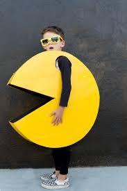 Pac Man Stencil Pumpkin Carving by Diy Kids Pac Man Halloween Costume The Effortless Chic