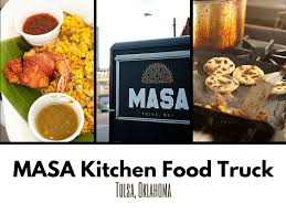 100 Food Trucks Tulsa Catch The MASA Kitchen Truck Parked Around Or At The